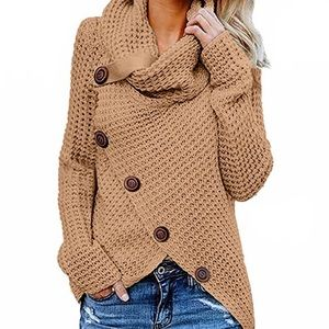 Knitted Sweater cardigan pullover